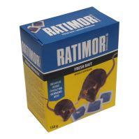měkká návnada na myši, RATIMOR, BRODIFACOUM, 150g