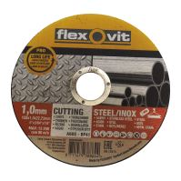 kotouč Flexovit, řezný, na kov,  150 x 22,23 x 2,5 mm, profi