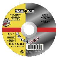 kotouč Flexovit, řezný univerzální, 150 x 22,23 x 1,6 mm, profi
