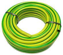 """TOPTRADE hadice zahradní, žluto - zelená , neprůhledná, 1/2"""", 25 m"""