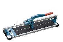 TOPTRADE řezačka na obklady, s lámačkou a úhelníkem, profi, 600 mm
