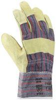 rukavice pracovní, kožené, ZORO, standard, velikost 10,5