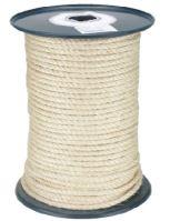 lano stáčené  přírodní, sisál, bez jádra, O 10 mm x 100 m, Lanex