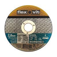 kotouč Flexovit, řezný, na kov a nerez, 150 x 22,23 x 1 mm, profi