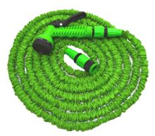 TOPTRADE hadice zahradní, flexi, pistole plastová - rozstřikovač, 7 funkcí, sada, 10 / 30 m