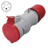 spojka pro přívod, plastová, 5 pólů, 16 A/400 V, IP44