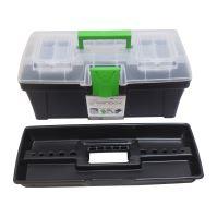 box plastový, na nářadí, Greenbox, 398 x 200 x 186 mm
