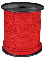 šňůra pletená, PPV multiplex, s jádrem, O 5 mm x 100 m, Lanex
