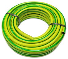 """TOPTRADE hadice zahradní, žluto - zelená , neprůhledná, 1/2"""", 50 m"""