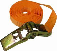 TOPTRADE pás upínací, s ráčnou, do 500 kg,  25 mm x 5 m