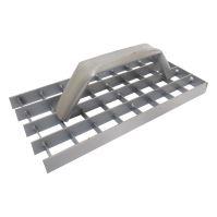 TOPTRADE škrabák omítek, ocelový, mřížový, 290 x 150 mm