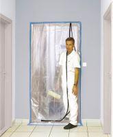 fólie ochranná, do  dveří, 100 µ, 115 x 220 cm