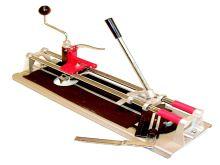 TOPTRADE řezačka na obklady, s lámačkou, úhelníkem a vykružovákem, 400 mm, hobby