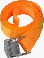 TOPTRADE pás upínací, s přezkou, do 250 kg,  25 mm x 1,8 m