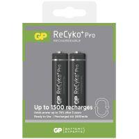 baterie GP ReCyko+ Pro Professional, nabíjecí, 2 ks blistr, HR6,tužka AA, 1,2 V