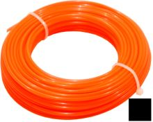 TOPTRADE struna do sekačky, plastová, průřez čtvereček, 2 mm x 15 m