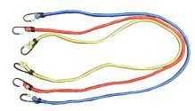 TOPTRADE gumolano upínací,  pavouk s háčky,  se 3 rameny, O 3 mm x 120 cm