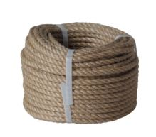 lano stáčené, přírodní s polypropylénem, bez jádra, J-PP, O 12 mm x 20 m, Lanex