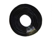 TOPTRADE hadice nivelační, pryžová, černá, 100 m