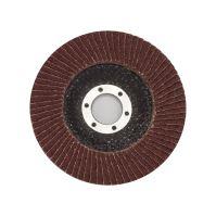 TOPTRADE kotouč brusný, lamelový, zrnitost 60, 115 x 22,2 x 2 mm