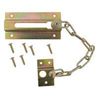 TOPTRADE řetěz dveřní, niklovaný, bezpečnostní, 75 mm