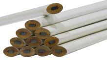 TOPTRADE tužka tesařská, bílá, sada 12 ks, 250 mm