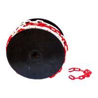 TOPTRADE řetěz plastový, na cívce, 3 mm x 50m