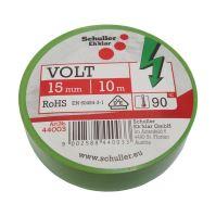 páska elektroizolační, zelená, 15 mm x 10 m