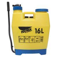 REFLEX postřikovač plastový,zádový, se sítkem a pákovým tlakováním, 16l