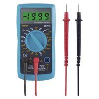 multimetr, DC/AC 200mV / 200 V – 600 V, napájení 1× 9 V